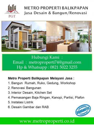 Jasa Renovasi Rumah & Bangunan