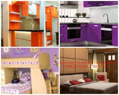 kitchen set murah minimalis Jakarta dan Malang