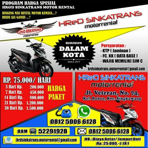 Motor Rental Singkawang