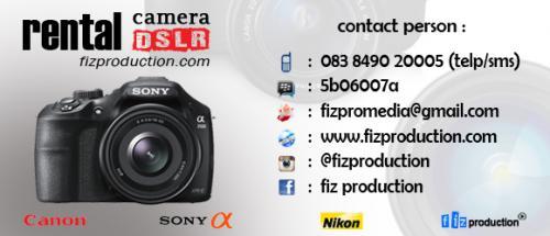 Rental Kamera Sidoarjo dan Surabaya