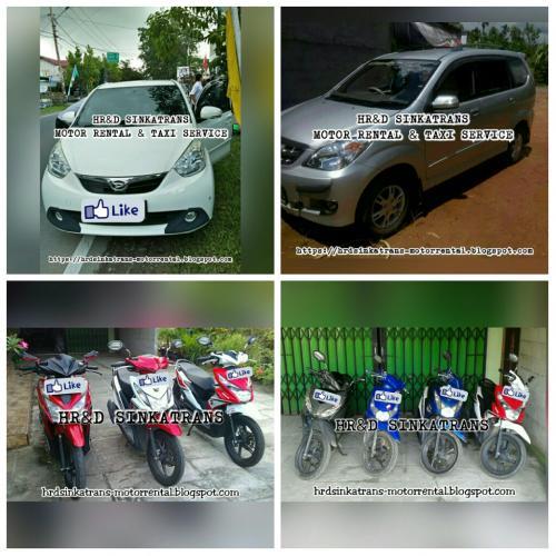 Rental Motor Kota Singkawang