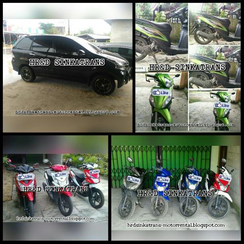 Rental Motor Singkawang