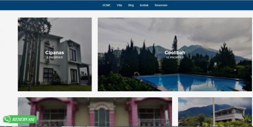 Sewa Villa di Puncak Murah Fasilitas Lengkap